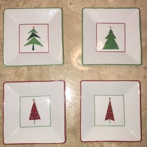 Crate and Barrel plates
